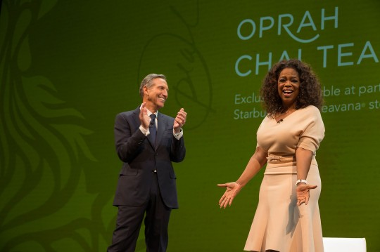 STARBUCKS COFFEE CANADA - Starbucks and Oprah Winfrey Come Toget