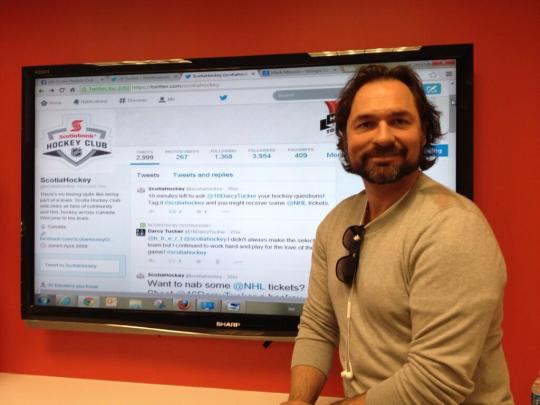 Darcy Tucker Tweet Chat